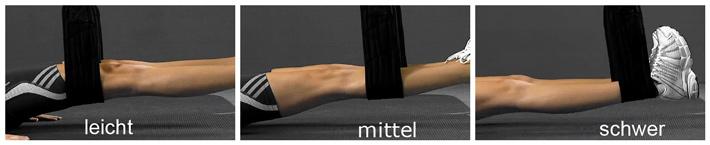SlingTrainer Rückenübung Methodik - Schlaufenposition